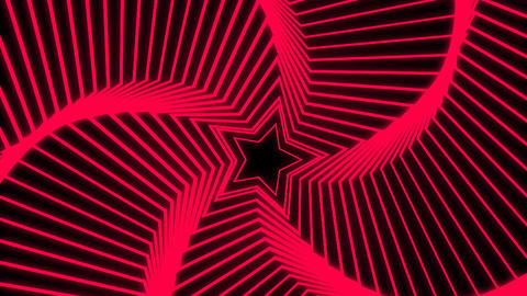 Star Radiation red Stock Video Footage