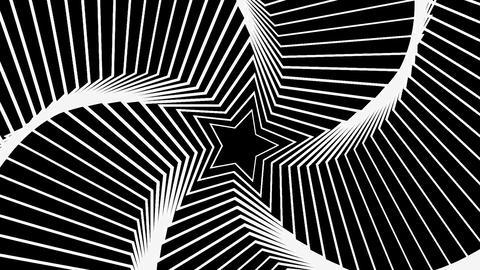 Star Radiation white Animation