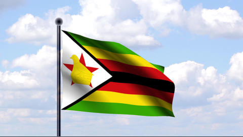Animated Flag of Zimbabwe / Simbabwe Animation