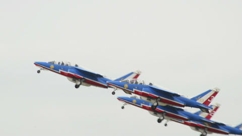 Patrouille France take off 10953 Footage
