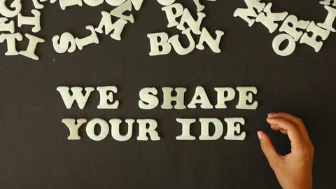 We shape Your Ideas Footage