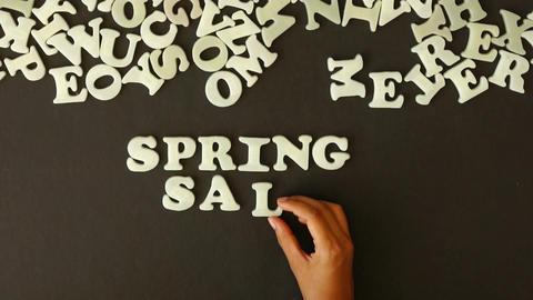Spring Sale Footage