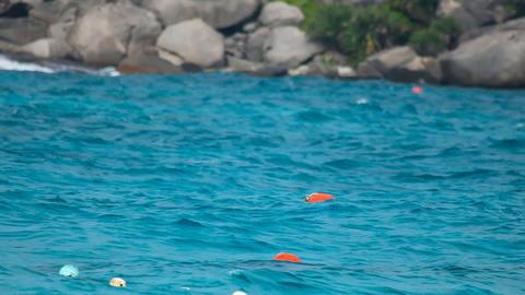 Floating Buoy Footage