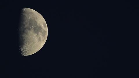 Hi resolution Moon Stock Video Footage