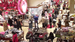 Christmas Shopping 1 Footage