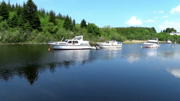 Lough Corrib 1 Stock Video Footage