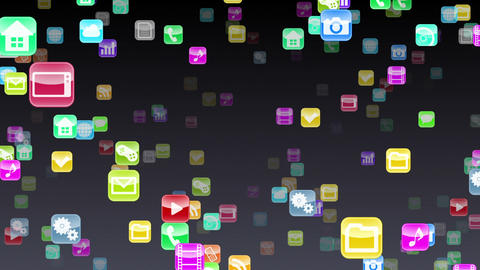 Smart Phone apps S Kb 1b 1 HD Stock Video Footage