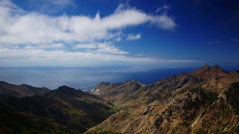 Tenerife coastline Stock Video Footage