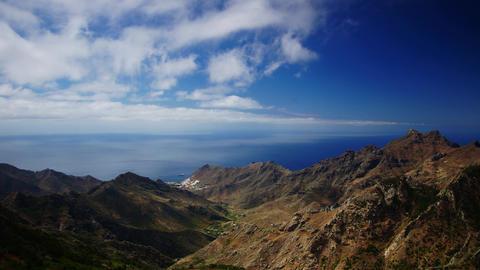 Tenerife coastline Footage