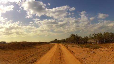 Desert Car Trip 05 Stock Video Footage