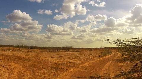 Desert Car Trip 03 Stock Video Footage