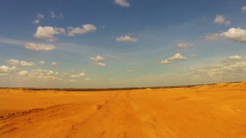 Desert Car Trip 01 Footage