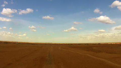 Desert Car Trip 01 Stock Video Footage