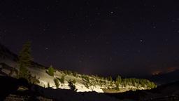 Mt. Hood Night Sky Footage