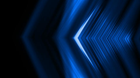 blue fiber optic lines shaped metal triangle,tech energy... Stock Video Footage