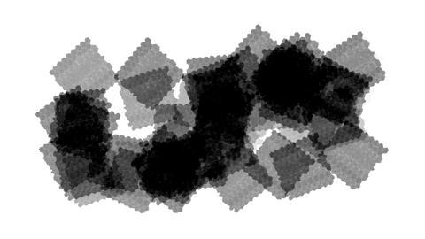 black quartz & plastic square Stock Video Footage