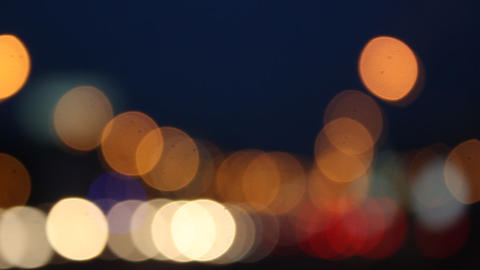Night glare City 2 Footage