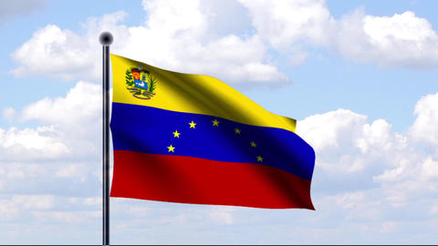Animated Flag of Venezuela Animation