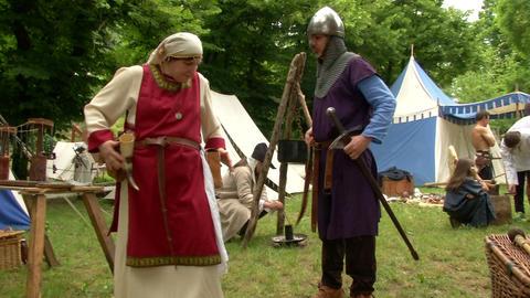 medieval village 12 e Footage