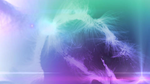 fur background color mix Stock Video Footage