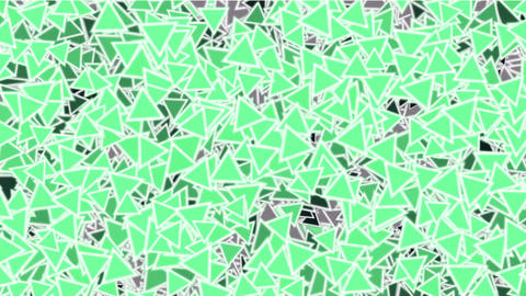 green triangles block mosaics wall,game brick,abstract... Stock Video Footage
