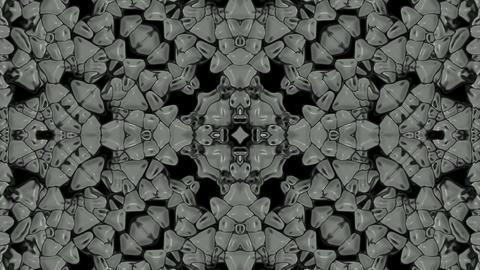 plastic flower pattern,gorgeous orient religion fancy Stock Video Footage
