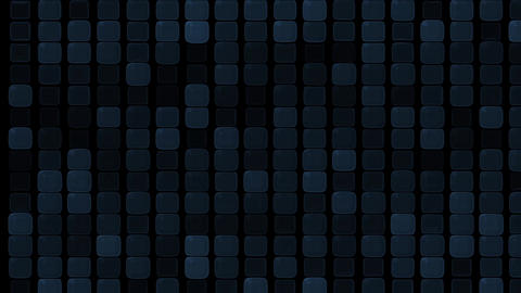 glass square and block Brick matrix wall,tech computer background Animation