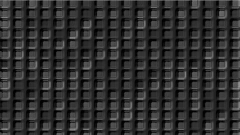gray cement square grid & block brick matrix wall Animation