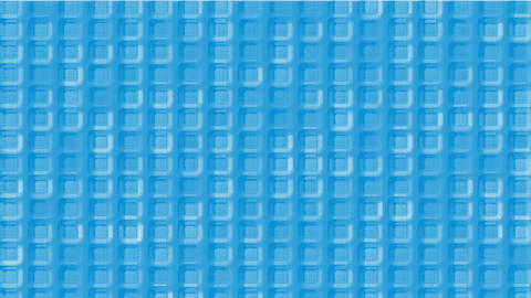 blue plastic square grid & block brick matrix wall Stock Video Footage