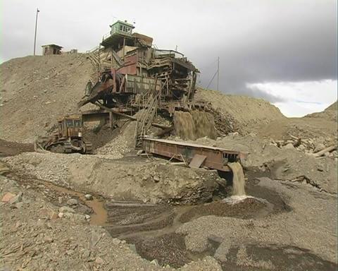 Strip Mining. Draga Stock Video Footage