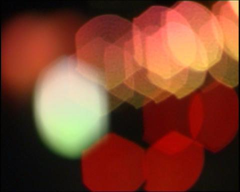 Defocused lights Stock Video Footage