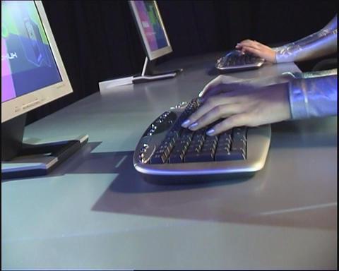 Keyboard Footage