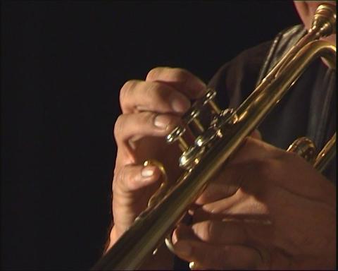 Trumpet Stock Video Footage