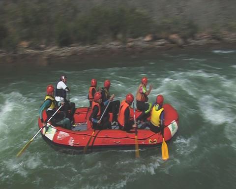 Rafting Stock Video Footage