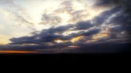 Sunrise Clouds Stock Video Footage