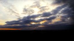 Sunrise Clouds Footage