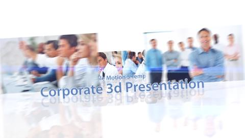 Corporate 3d Presentation - Apple Motion and Final Cut Pro X Template Apple Motion Template