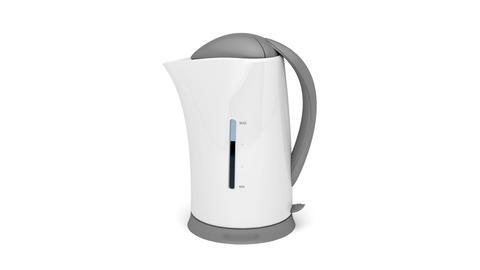 Electric kettle Animation