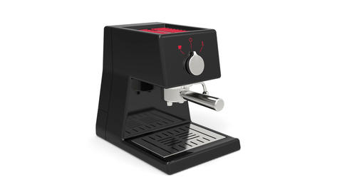 Espresso machine Animation