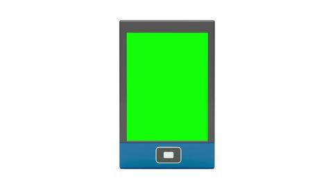 Tablet presentation Animation