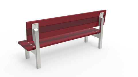 Bench Stock Video Footage