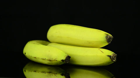 Bananas rotating Stock Video Footage