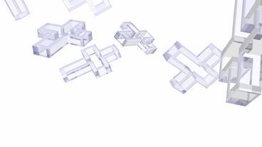 transparent cross symbol Stock Video Footage