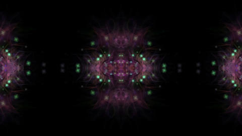 flare mandala flower pattern & kaleidoscope Animation