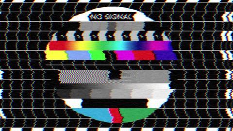 Bad TV - I - Static Noise & Sound Animation