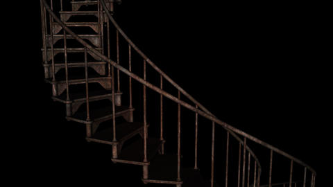 Stairway To Hell - Loop + Alpha Animation