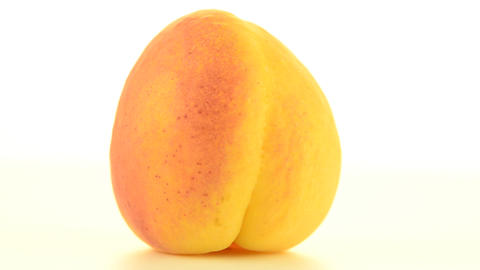Peach rotating Footage