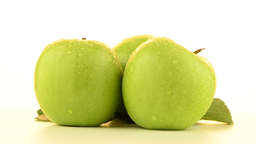 Three apples Stock Video Footage