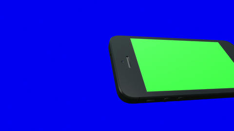 Horizontal Smartphone Transition Stock Video Footage
