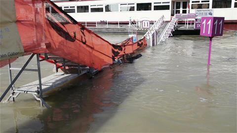 2013 Flood Budapest Hungary 2 Footage